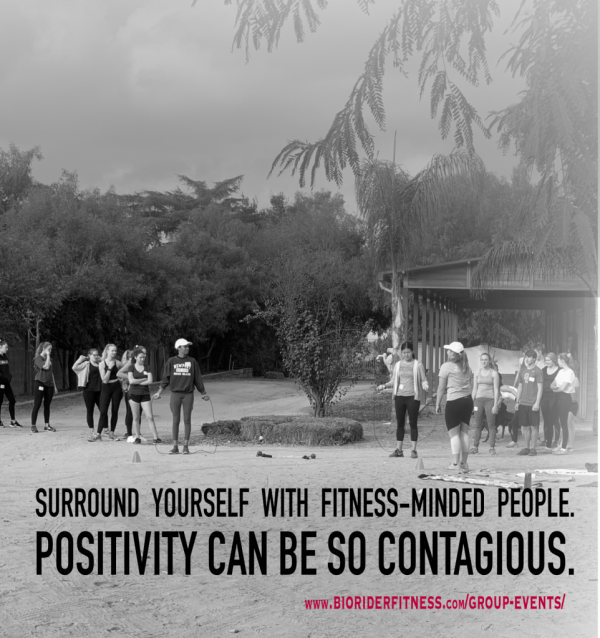 Group Fitness.Positivity Can be Contagious