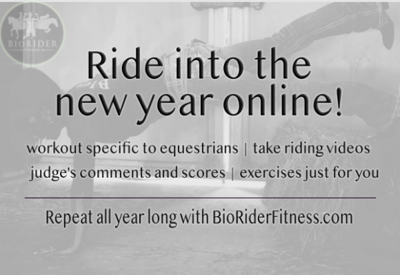 Ride into the new year